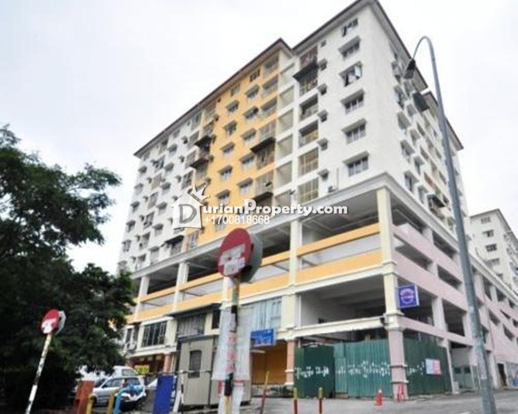 Apartment For Auction at Pangsapuri Suria Avenue, Section 16