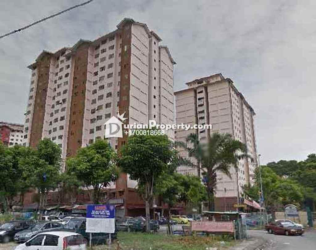 Apartment For Auction at Pangsapuri Taratak Muhibbah, Kuala Lumpur