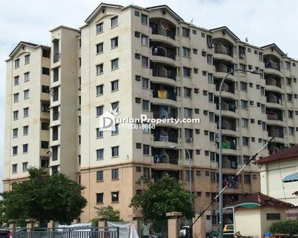 Apartment For Auction at Perdana Apartment, Shah Alam