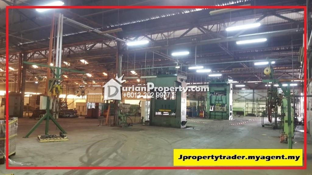 Detached Factory For Rent at Kemuncak Shah Alam, Section 9