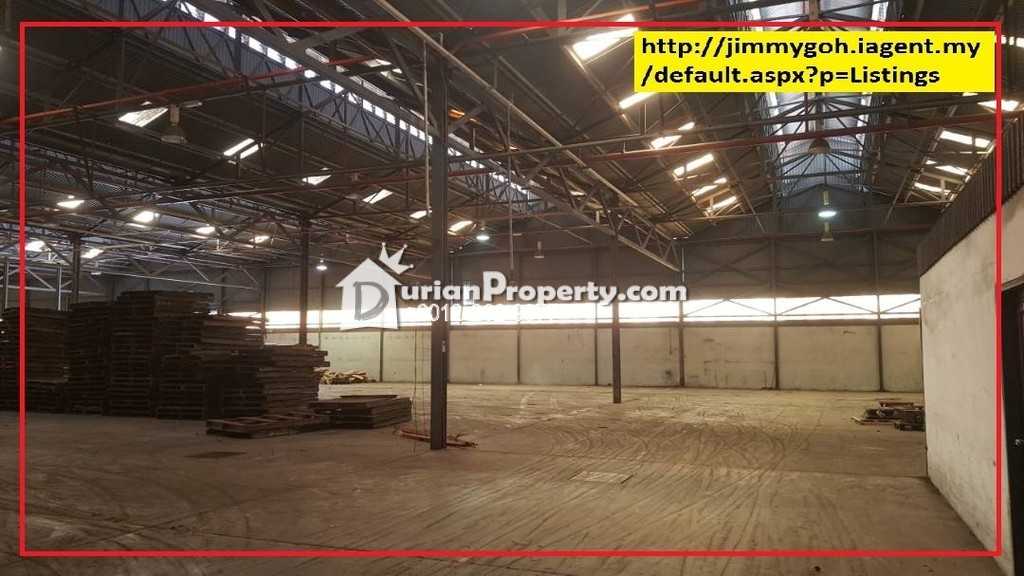 Detached Factory For Rent at Kemuncak Shah Alam, Section 9
