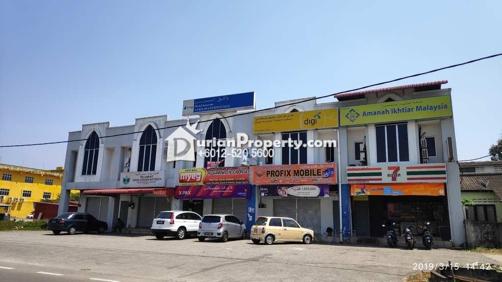 Shop For Auction at Kok Lanas, Kelantan