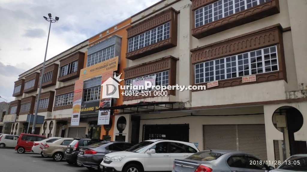 Shop Office For Auction at Wakaf Che Yeh, Kota Bharu