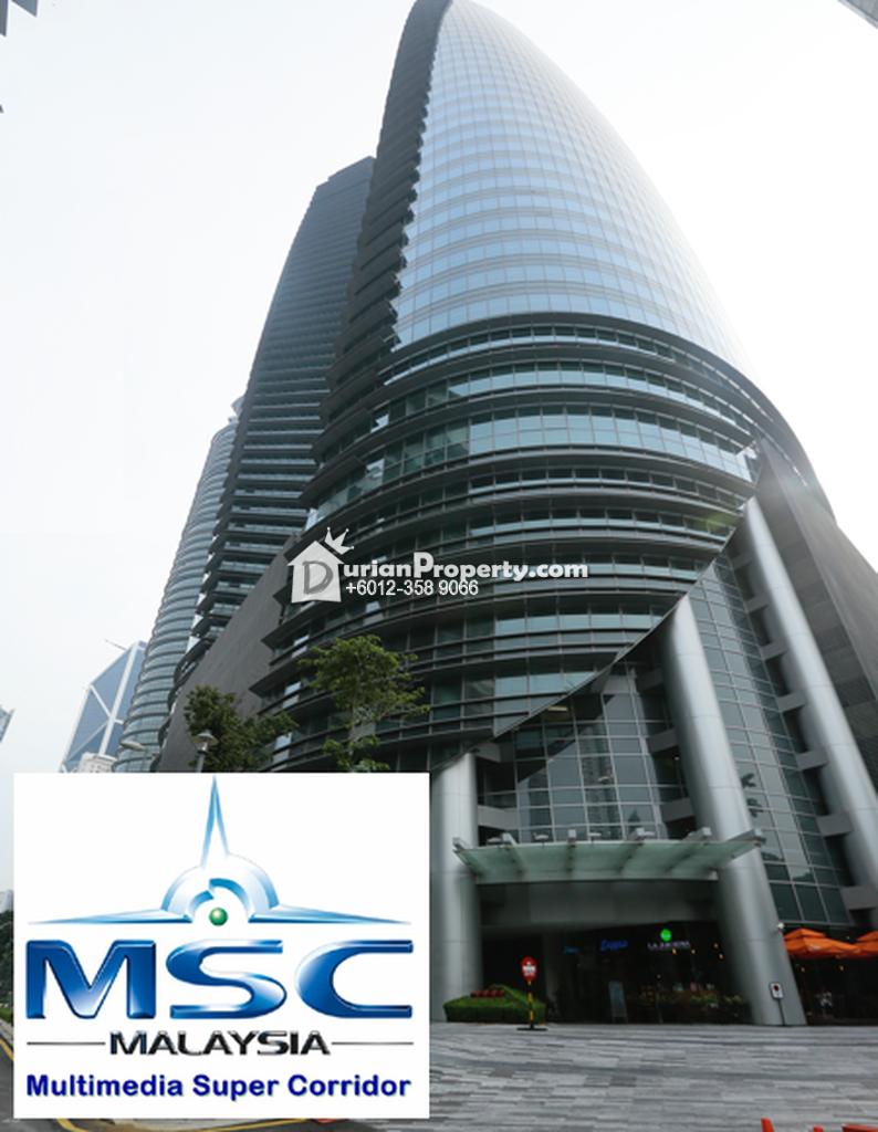 Office For Rent at Menara TH @ Platinum Park, KLCC