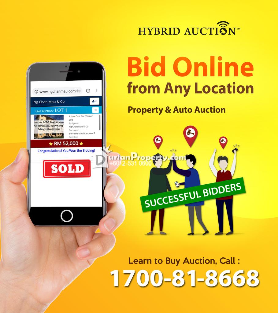 Detached Warehouse For Auction at Bandar Kota Bharu, Kota Bharu