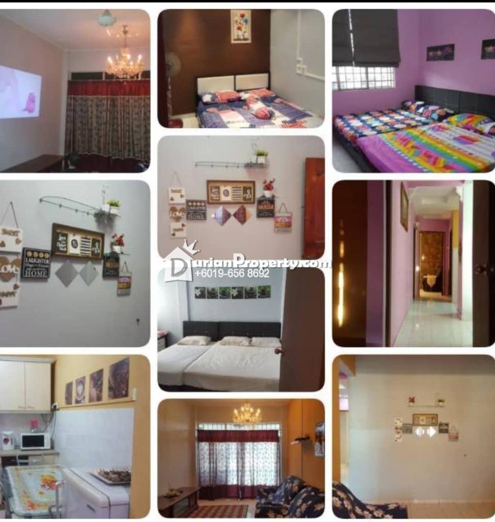 Apartment For Rent at Apartment Taman Saujana Puri, Bukit Katil