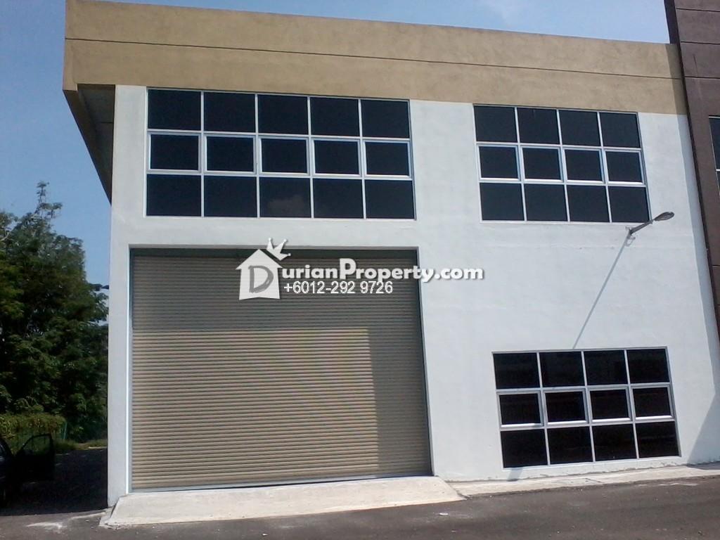 Semi-D Factory For Sale at Kampung Jawa, Shah Alam