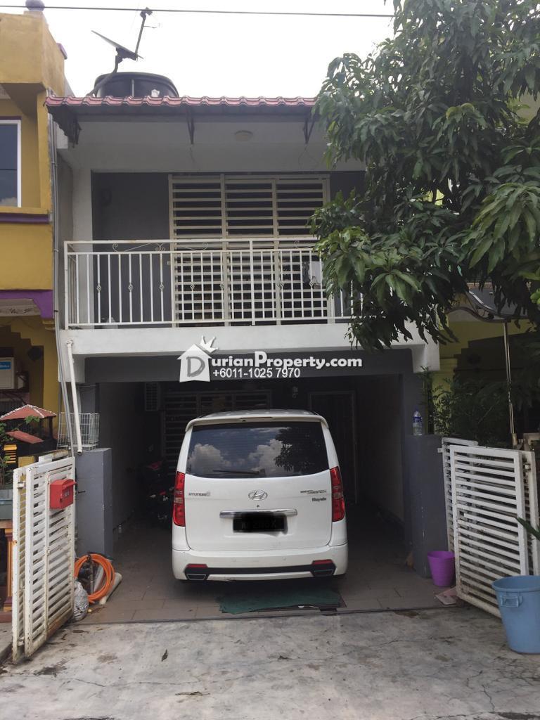 Terrace House For Sale at Taman Cahaya, Ampang