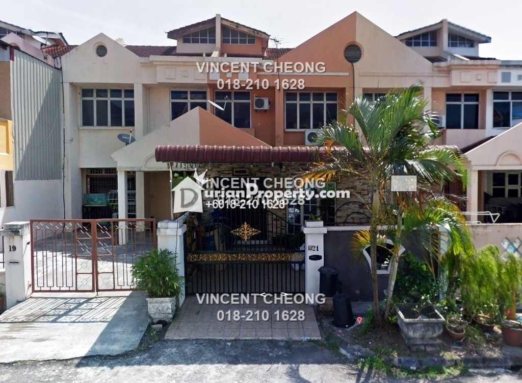 Terrace House For Sale at Taman Perai Utama, Seberang Jaya