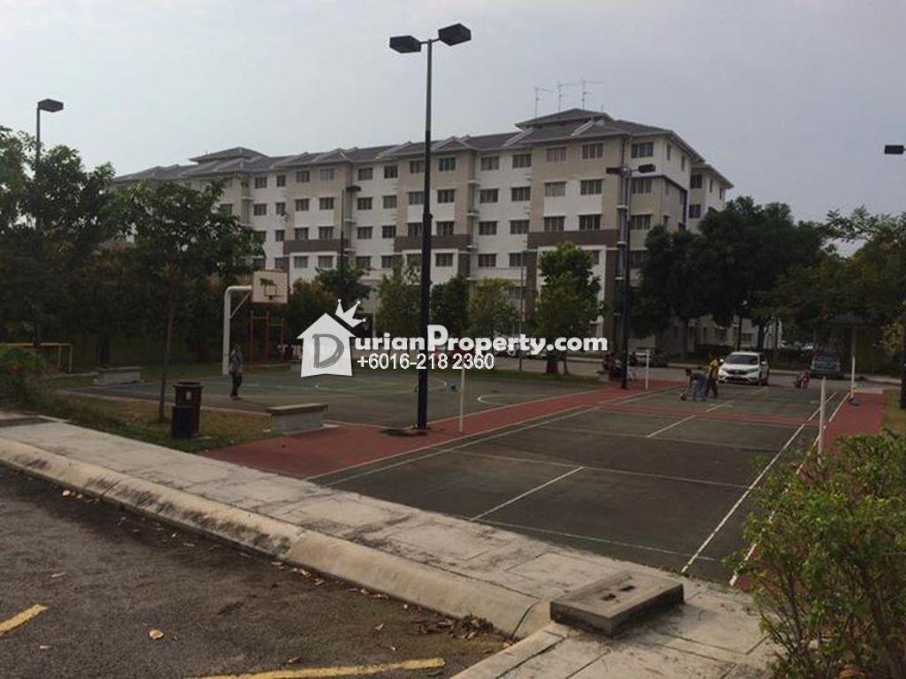 Flat For Sale at Pangsapuri Seroja, Section U13