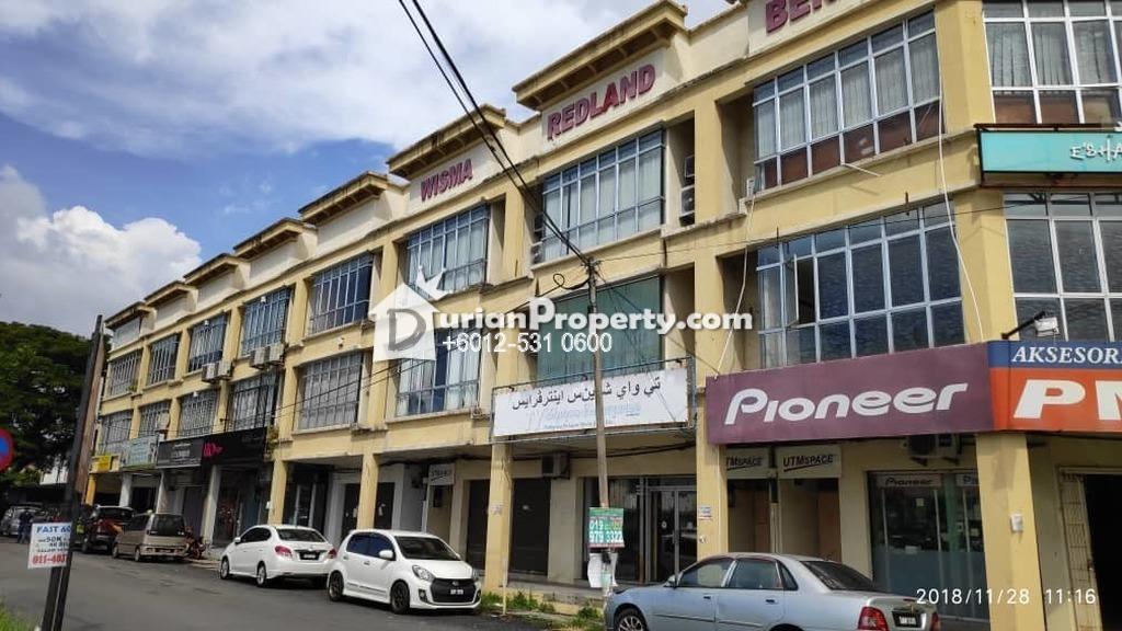 Shop Office For Auction at Wisma Redland, Kota Bharu