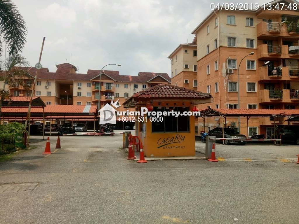 Apartment For Auction at Casa Ria Apartment, Bandar Country Homes