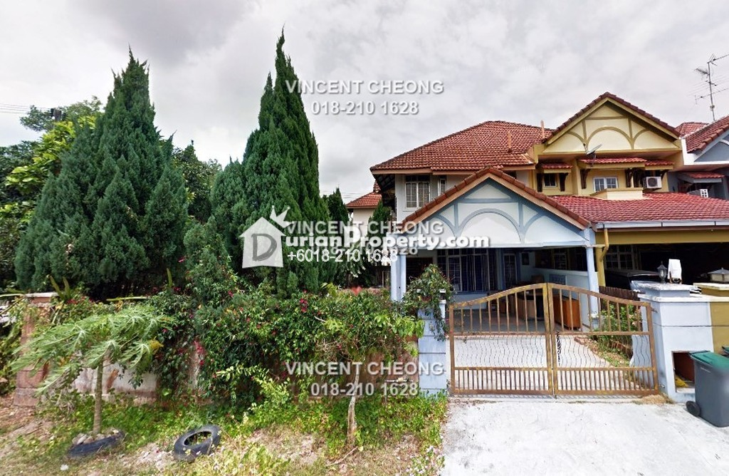 Terrace House For Sale at Taman Bukit Tiram, Ulu Tiram