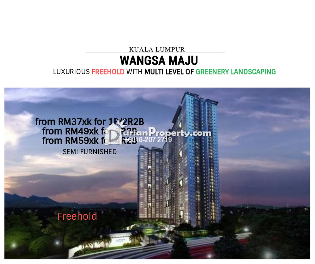 Condo For Sale at Hedgeford 10 Residences, Wangsa Maju