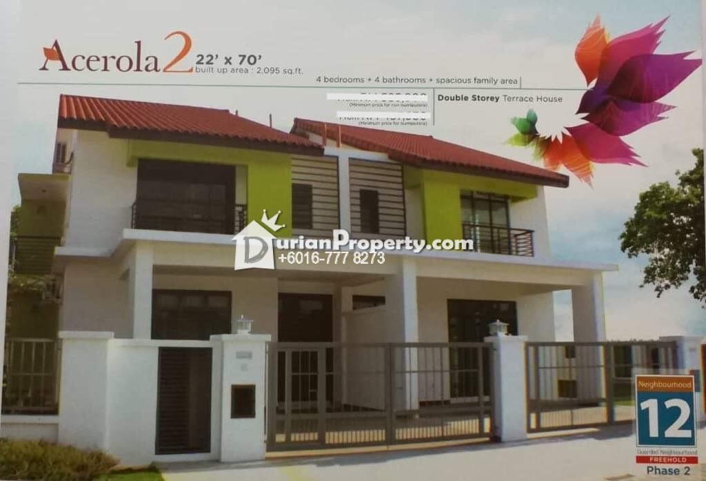 Terrace House For Sale at Bandar Dato Onn, Johor Bahru