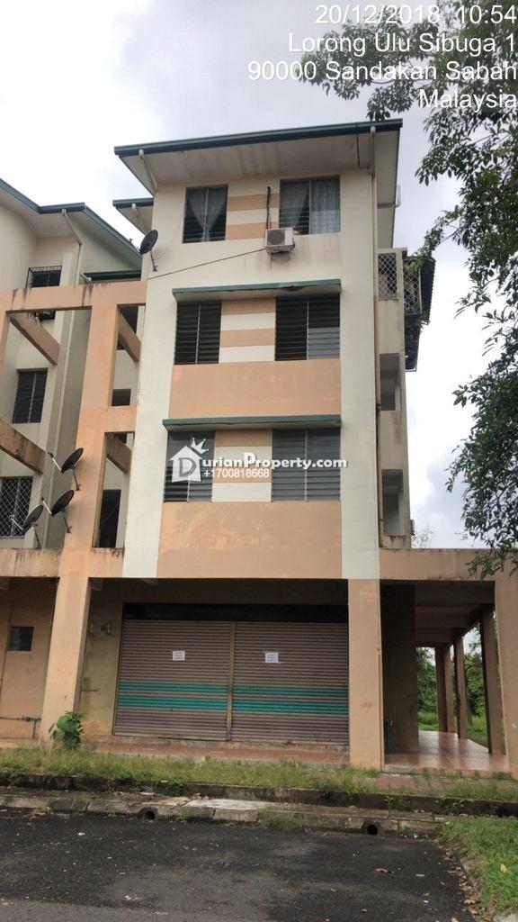 Apartment For Auction at Taman Mawar, Sandakan