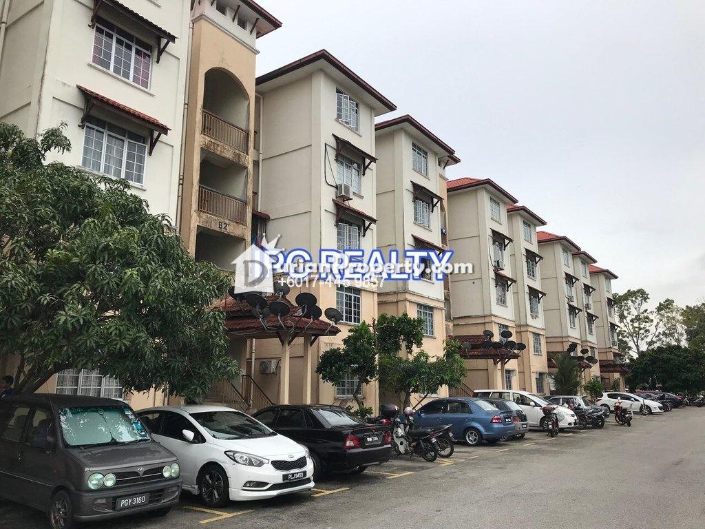 Apartment For Sale at Pangsapuri Pesona (Taman Pauh Jaya), Bukit Mertajam