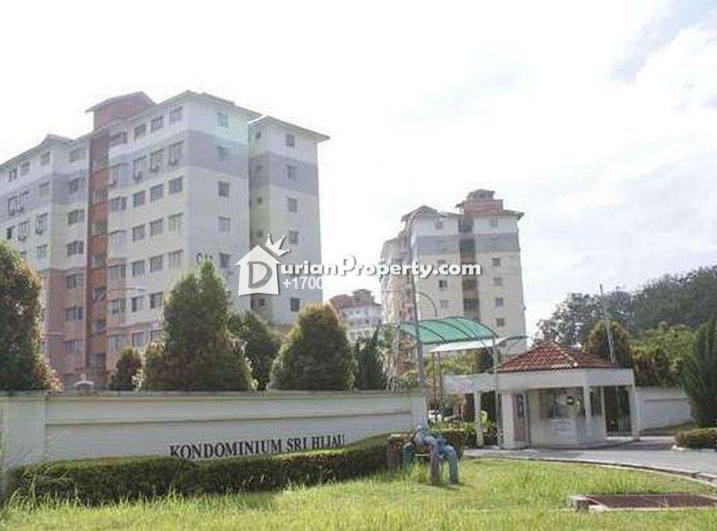 Condo For Auction at Sri Hijau, Bandar Mahkota Cheras