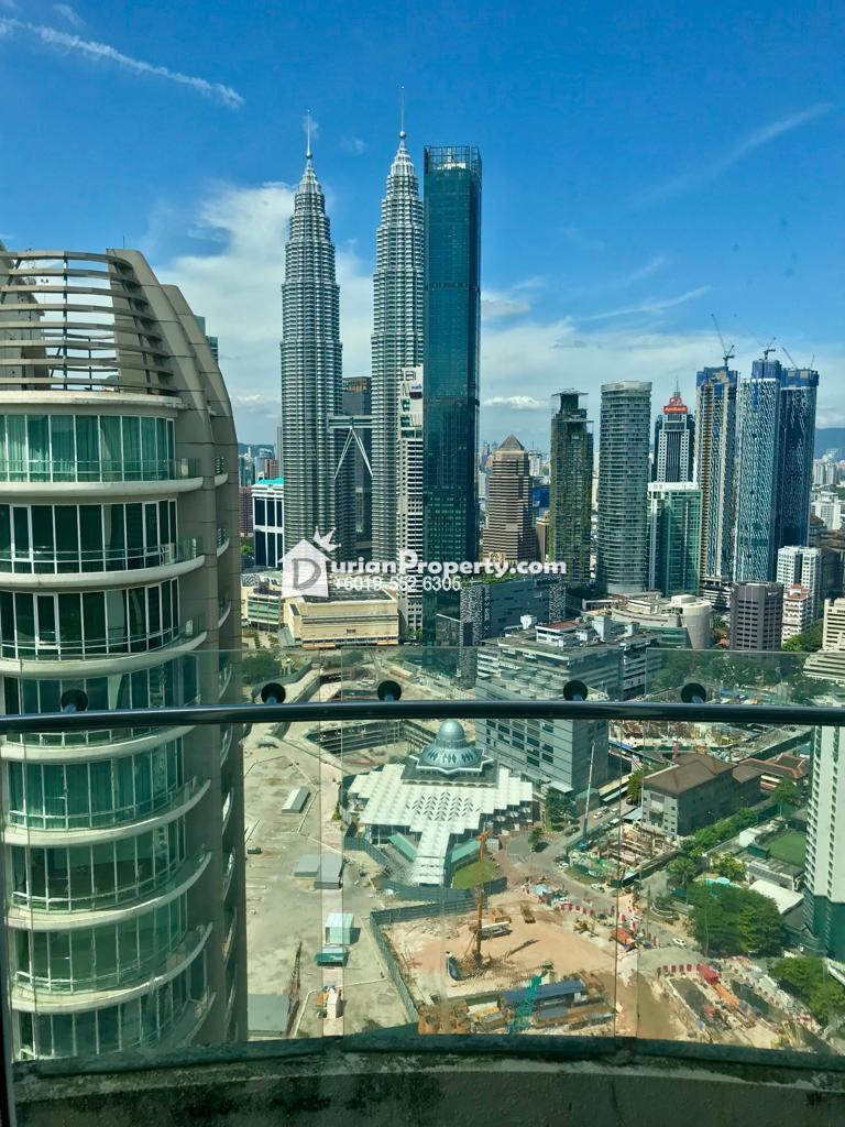 Serviced Residence For Sale at The Oval, KLCC