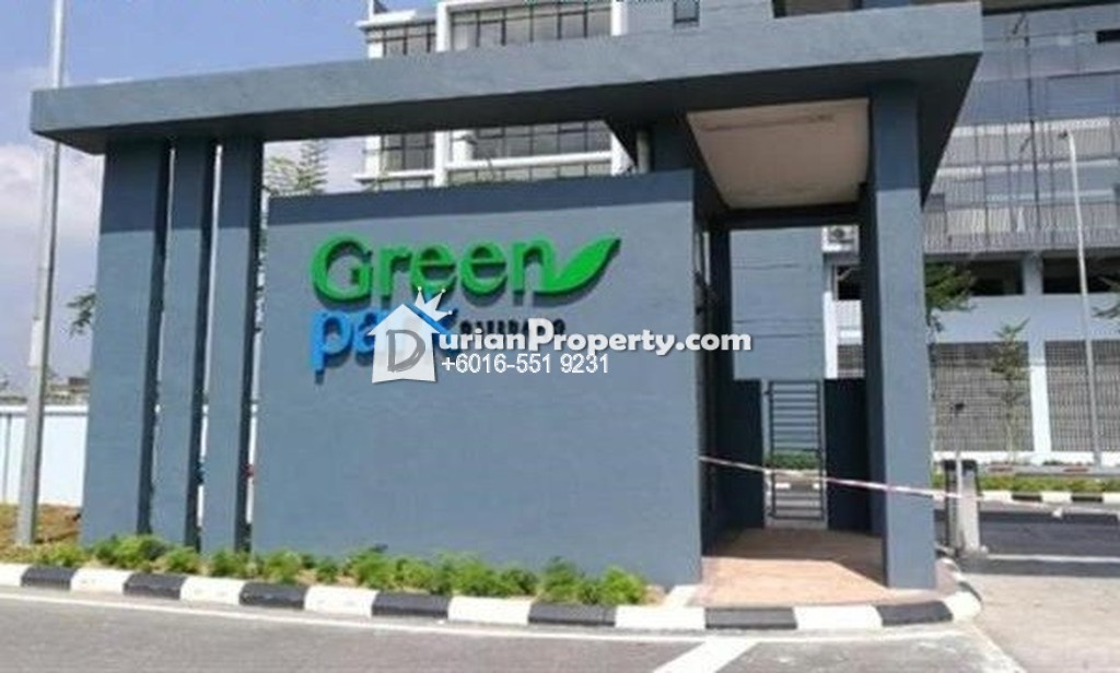 Condo For Sale at Green Park Condominium, Seri Kembangan