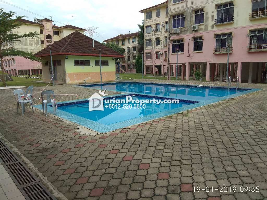 Apartment For Auction at Ria Apartment 2, Taman Megah Ria