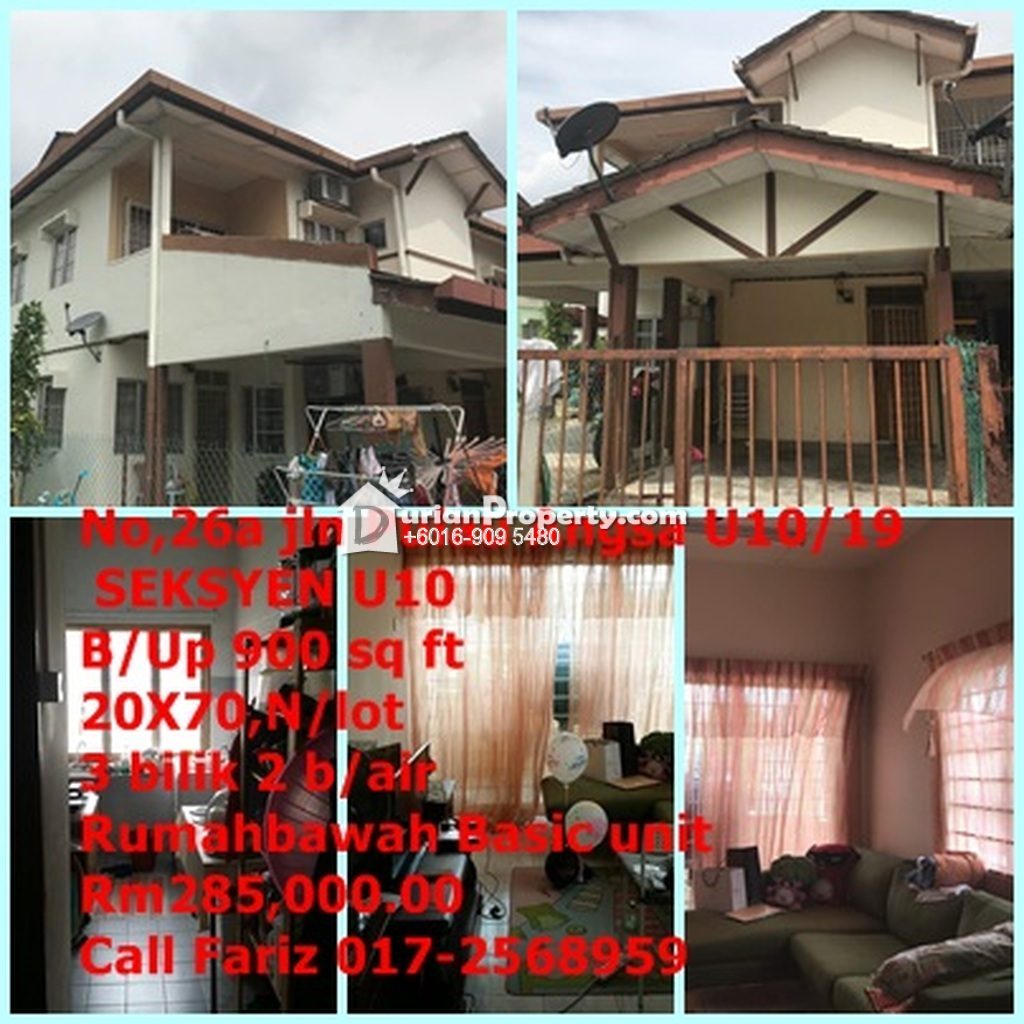 Townhouse For Sale at Puncak Perdana, Shah Alam