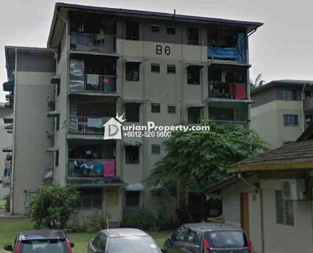 Flat For Auction at Section 4, Wangsa Maju
