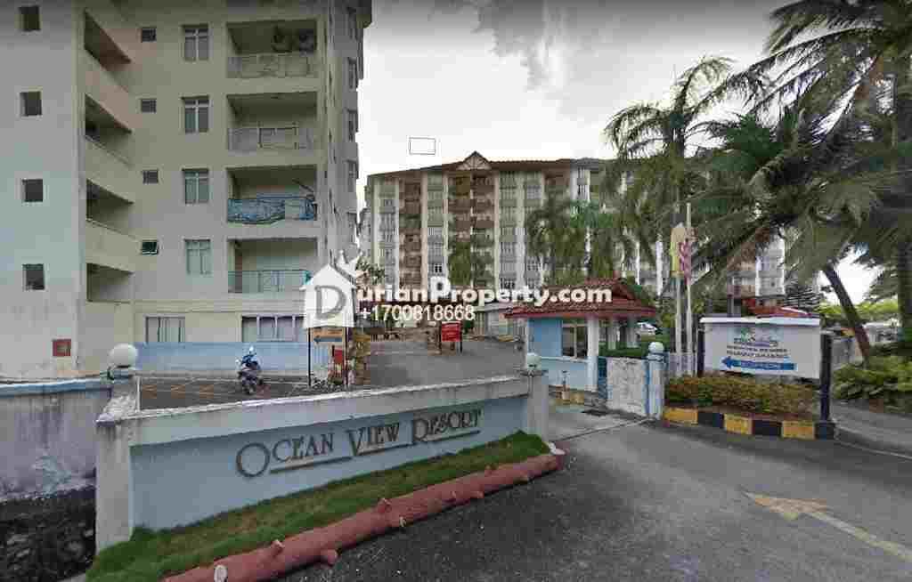Apartment For Auction at Ocean View Resort Condominium, Port Dickson