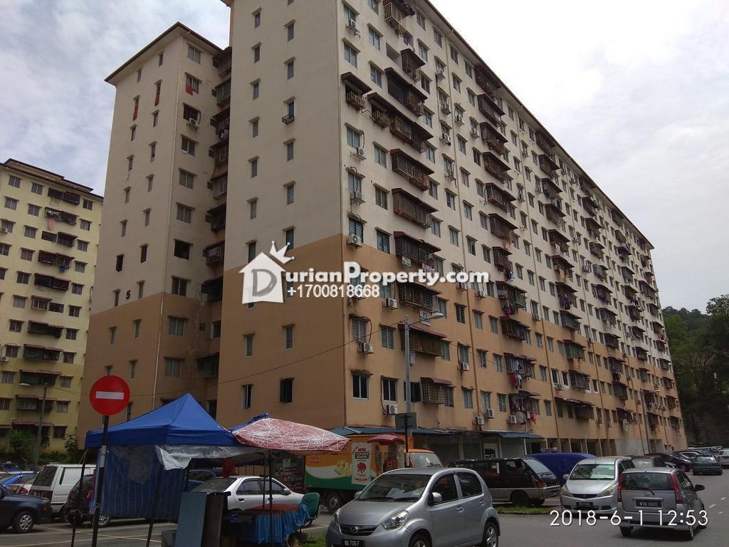 Apartment For Auction at Desa Satu, Kepong