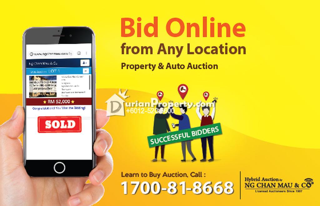 Detached Warehouse For Auction at Kulim Hi-Tech Park, Kulim