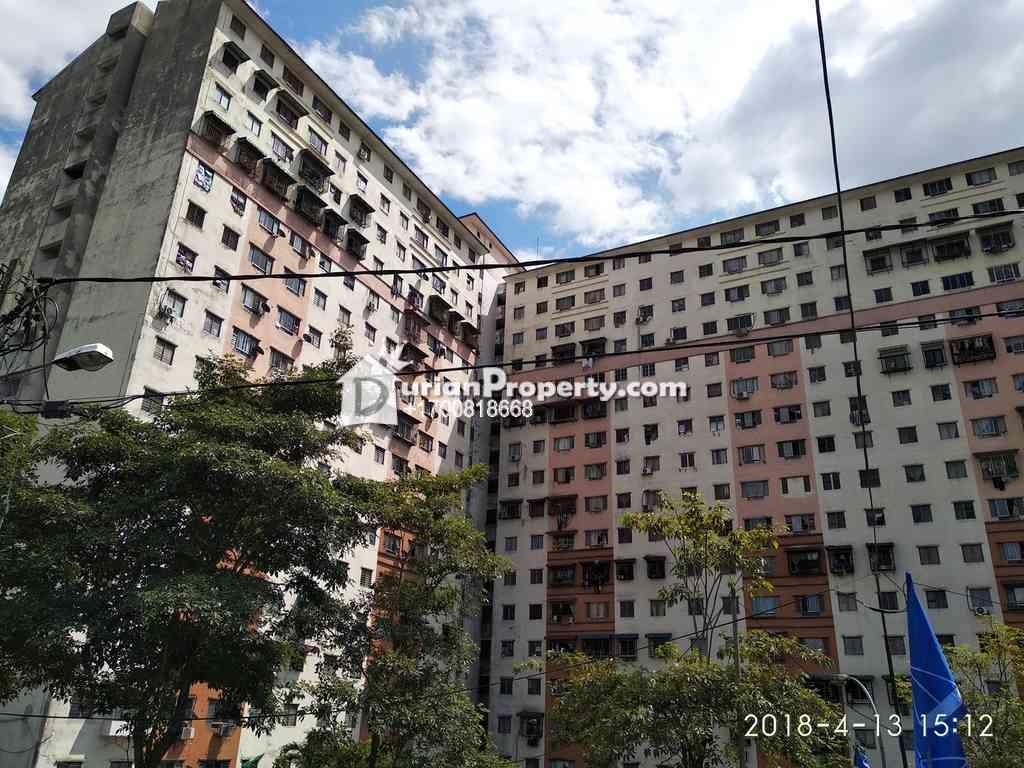 Apartment For Auction at Mesra Ria @ Pandan Mesra, Kampung Tasik Tambahan