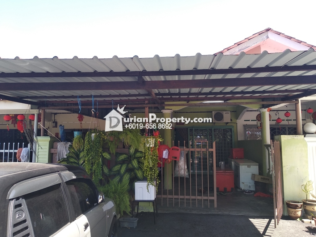 Terrace House For Sale at Taman Tanjong Minyak, Melaka