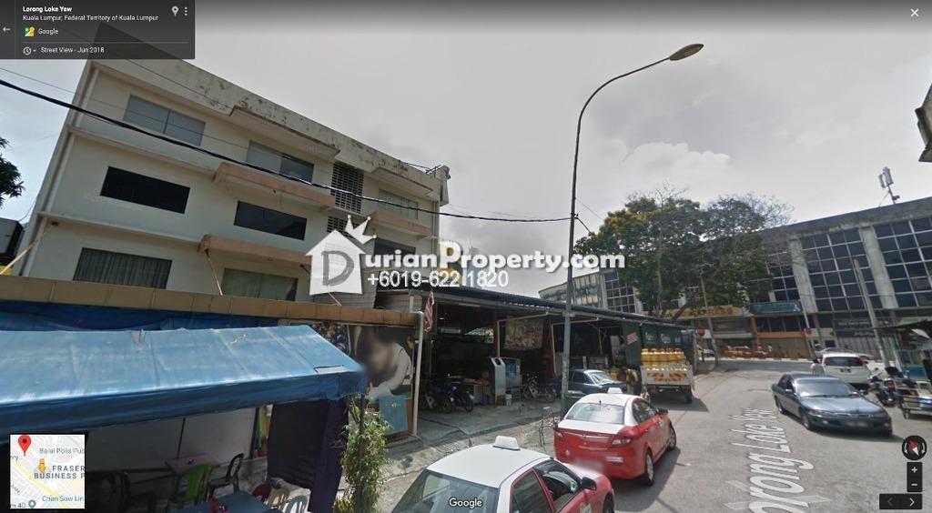 Commercial Land For Sale at Pudu, KL City Centre