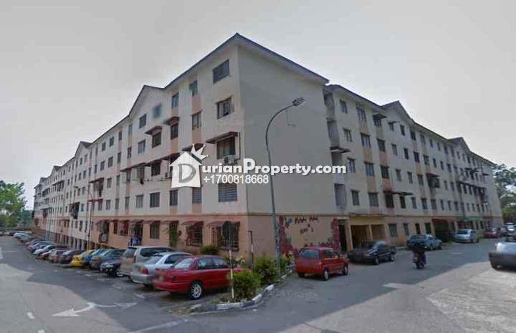 Apartment For Auction at Taman Bunga Raya, Bukit Beruntung