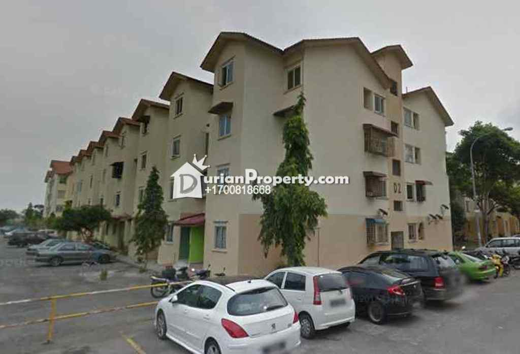 Apartment For Auction at Taman Langat Murni Apartment, Banting