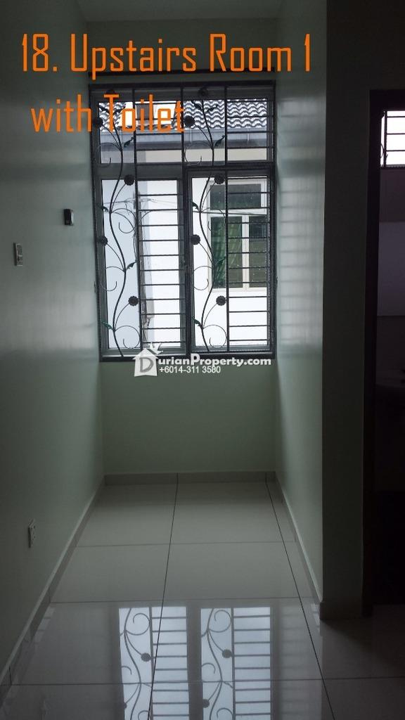 Terrace House For Sale at Rini Hill 2, Taman Mutiara Rini