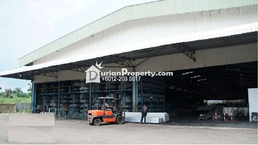 Detached Factory For Sale at Telok Gong Industrial, Port Klang