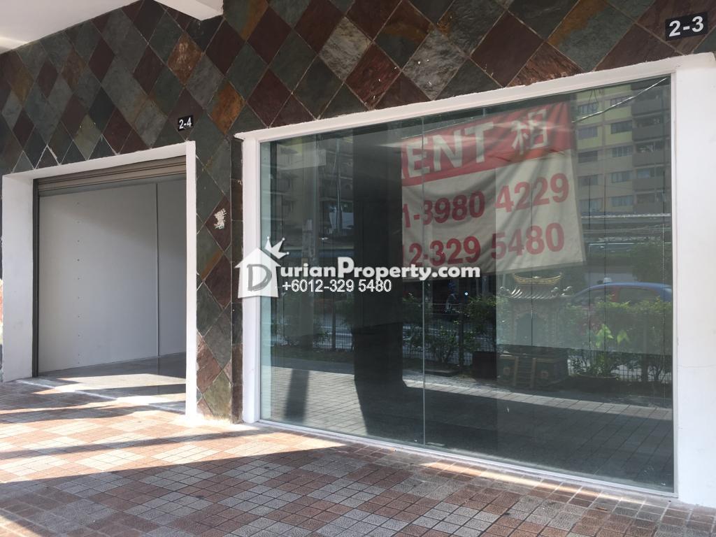 Shop For Rent at Kuala Lumpur, Malaysia