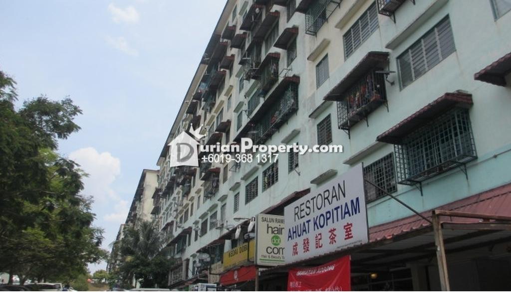 Apartment For Sale at Taman Bukit Segar, Cheras
