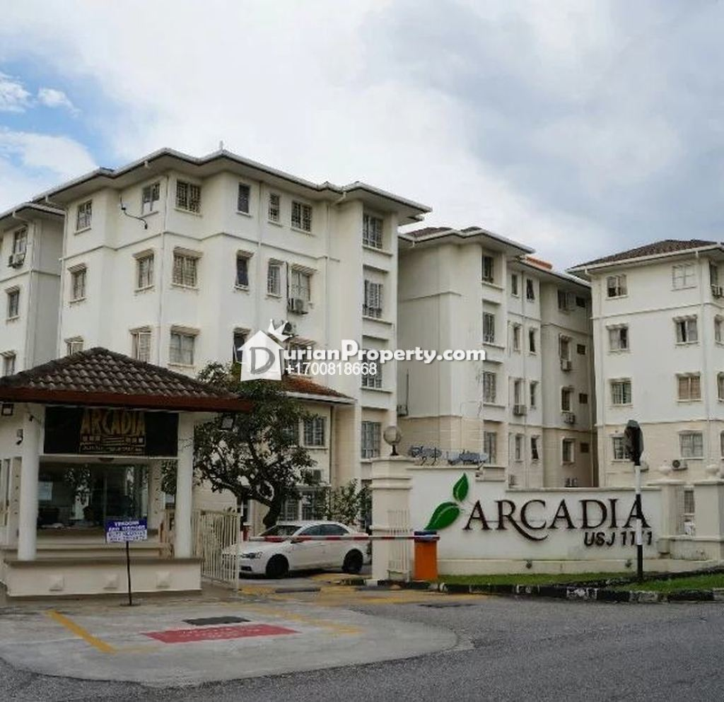 Apartment For Auction at Arcadia, USJ
