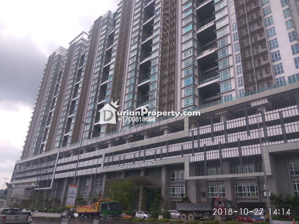 Apartment For Auction at Central Residence, Sungai Besi