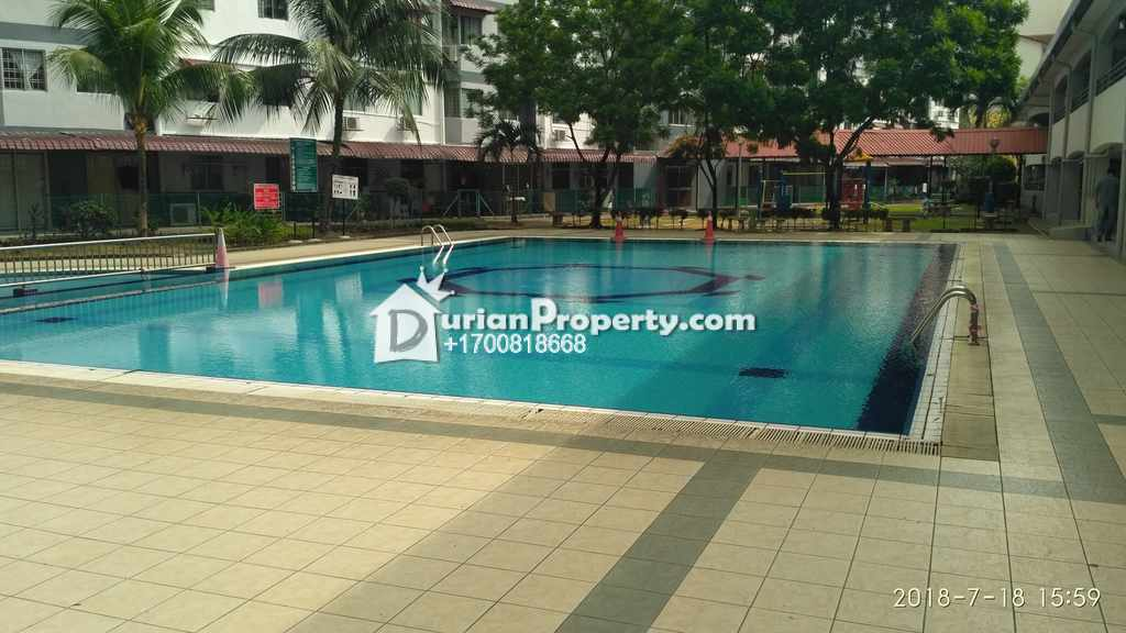 Apartment For Auction at Pangsapuri Vista Serdang, Taman Bukit Serdang