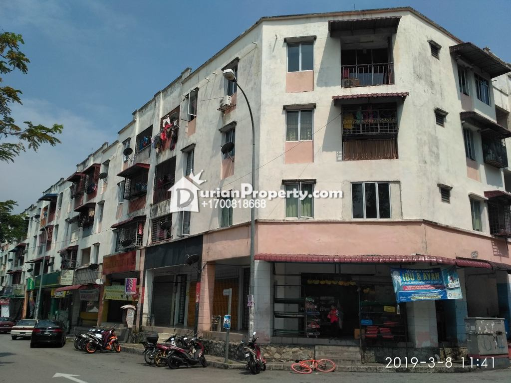 Apartment For Auction at Taman Kajang Utama, Kajang