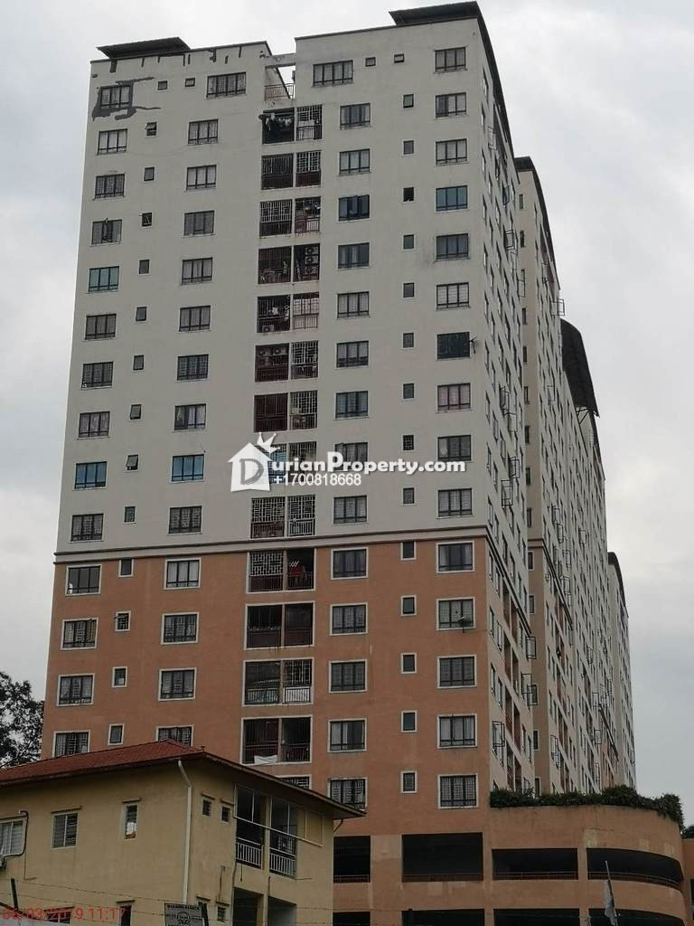 Apartment For Auction at Glenview Villa, Cheras