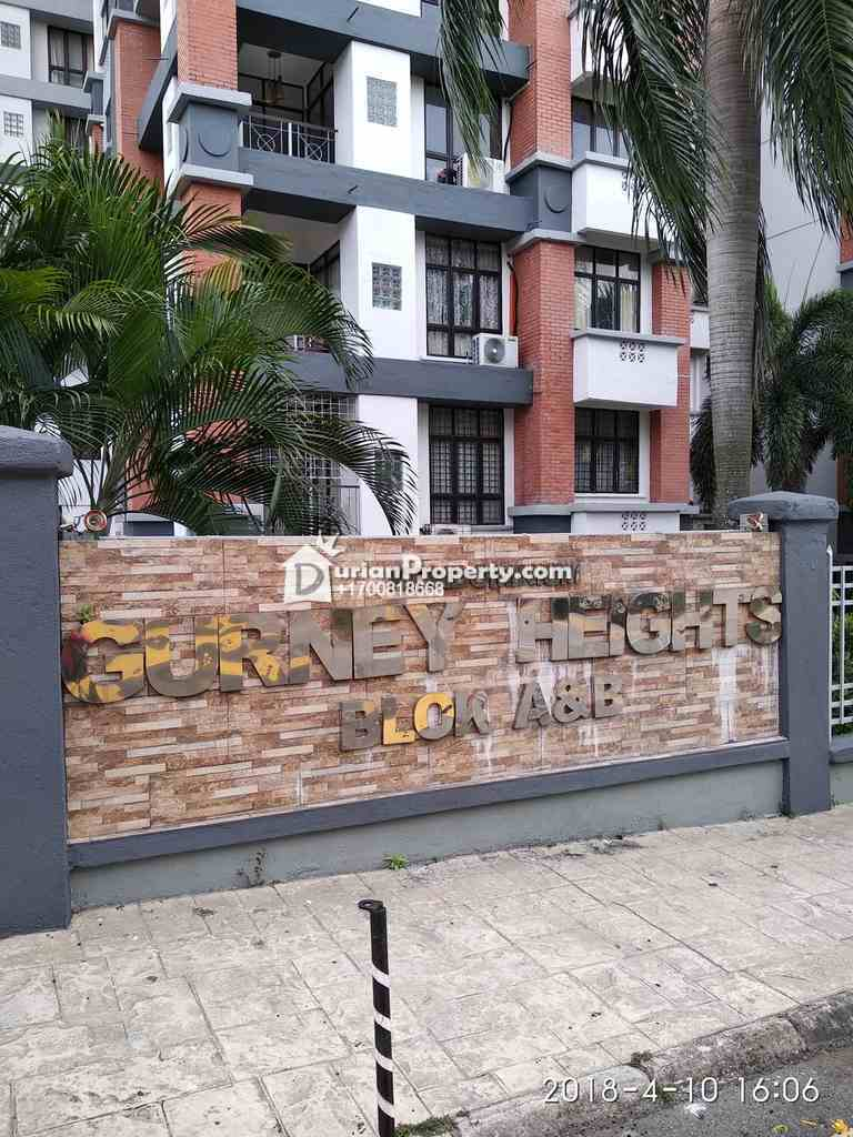 Penthouse For Auction at Gurney Heights, Keramat