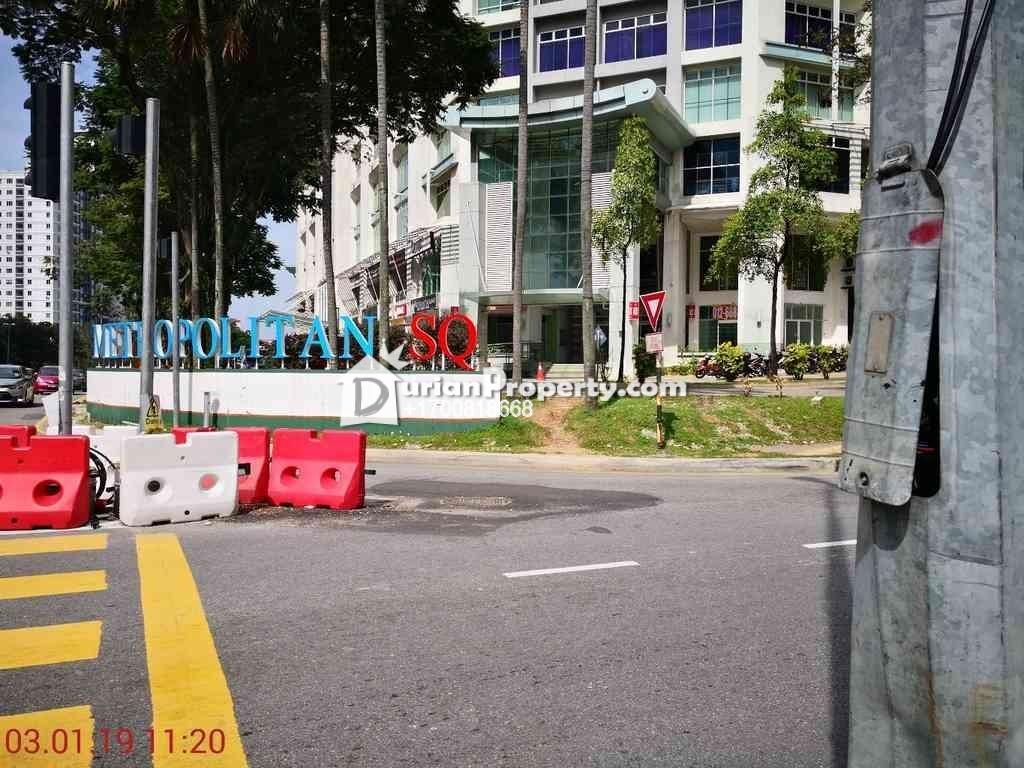 Office For Auction at Metropolitan Square, Damansara Perdana