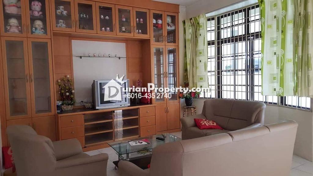 Terrace House For Rent at Taman Kijang Indah, Bukit Mertajam