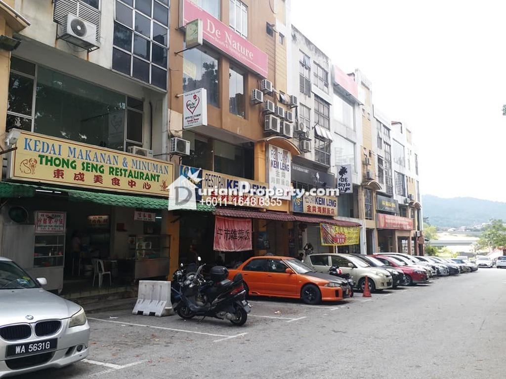 Shop Office For Sale at Taman Rasa Sayang, Batu 9 Cheras