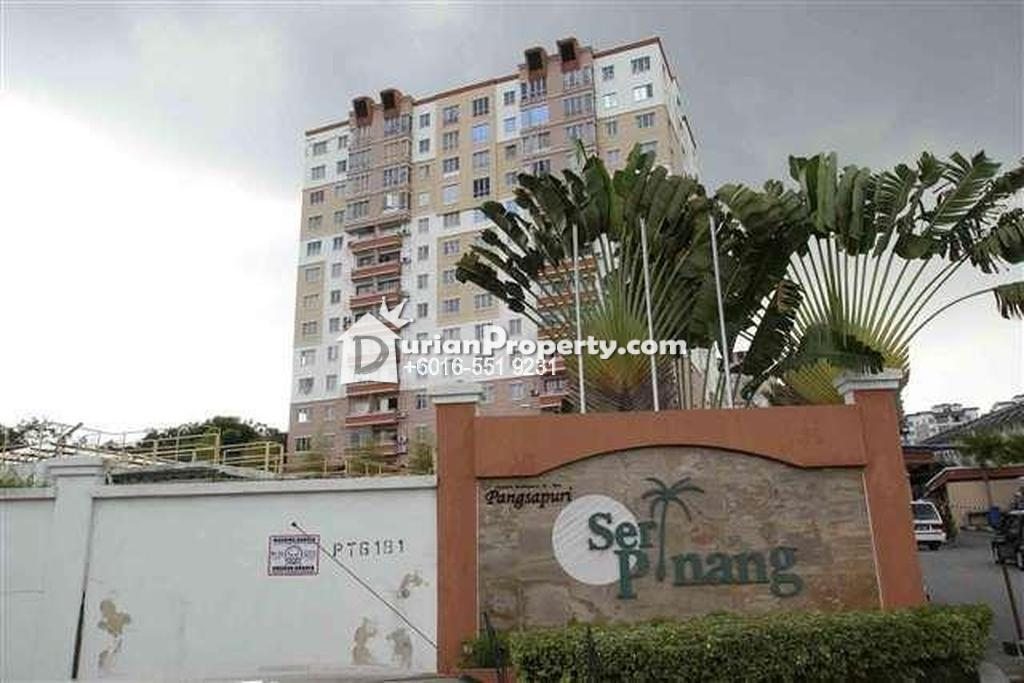 Condo For Sale at Seri Pinang Apartment, Seri Kembangan