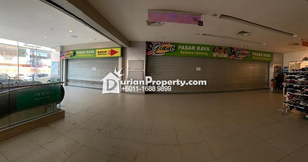 Retail Space For Rent at Megalong Mall Donggongon, Sabah